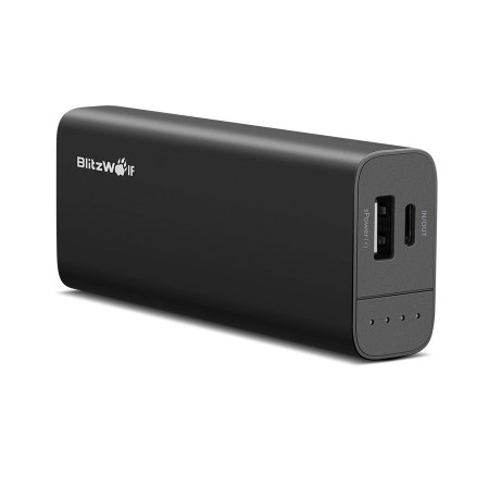 Powerbank BLITZWOLF 6700mAh S Power 2 porty USB czarny